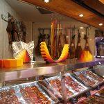 Puesto de La Fina en el Mercado de Antón Martín