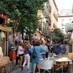 Mercadillo calle Cervantes