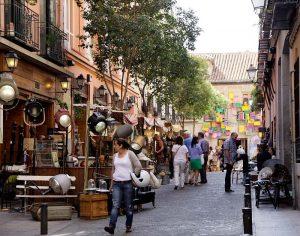 Mercadillo calle Quevedo