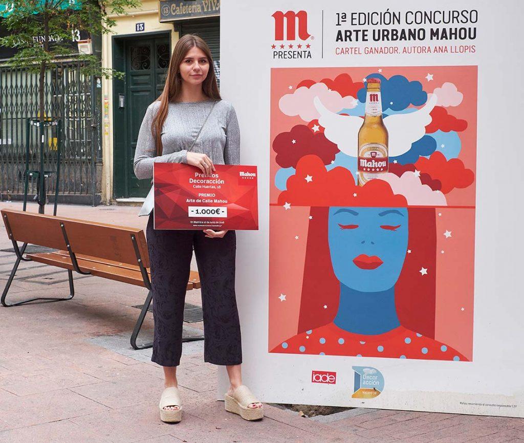 Concurso Arte de Calle Mahou: Ganadora