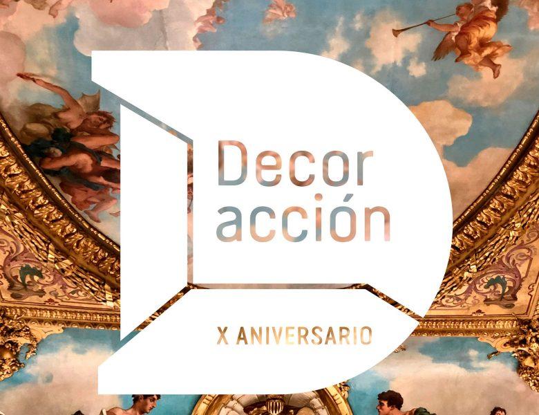 Logo DecorAcción X Aniversario
